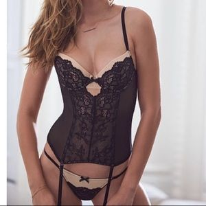 Victoria's Secret lace bustier